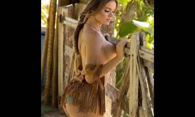 Thalita Zampirolli posou para o site Diamond Brazil em seu primeiro ensaio nu, a atriz postou nas redes sociais uma foto para divulgar seu ensaio