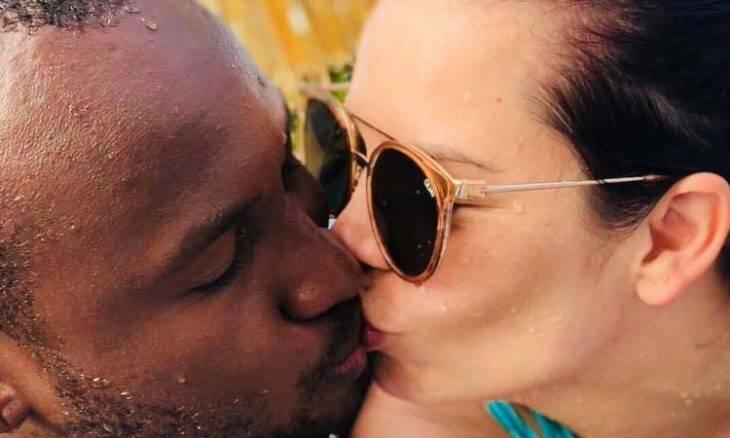 Fernanda Souza e Thiaguinho curtem férias no nordeste e postam muito