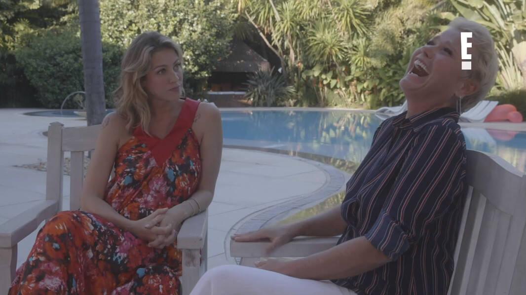Luana Piovani entrevista Xuxa Meneghel / Reprodução Canal E!