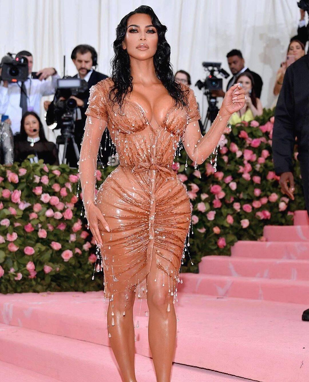 Kim Kardashian no MET Gala 2019