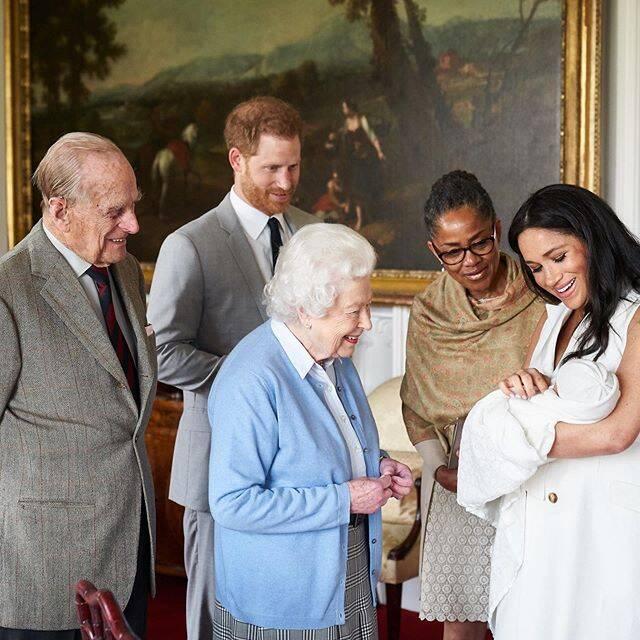 Família Real dá boas vindas a Archie, filho de Megan Markle e Príncipe Harry / Foto: Reprodução Instagram