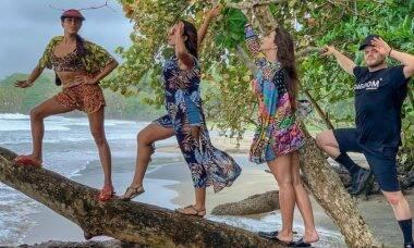 Cantora Anitta se diverte com amigos na Costa Rica / Foto: Reprodução Instagram