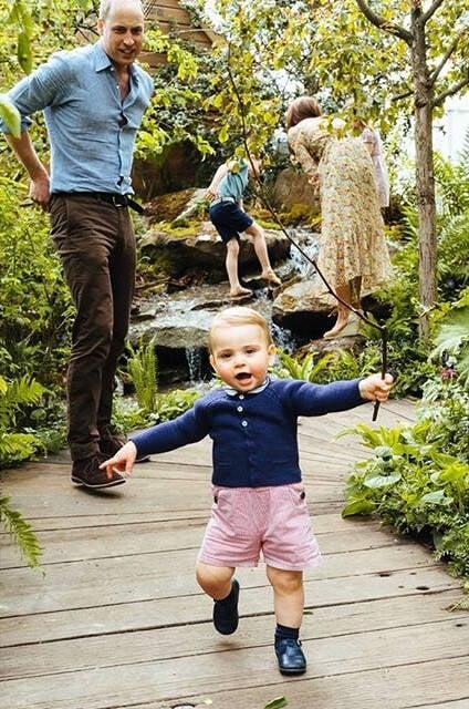 O Príncipe Louis / Foto: reprodução Instagram