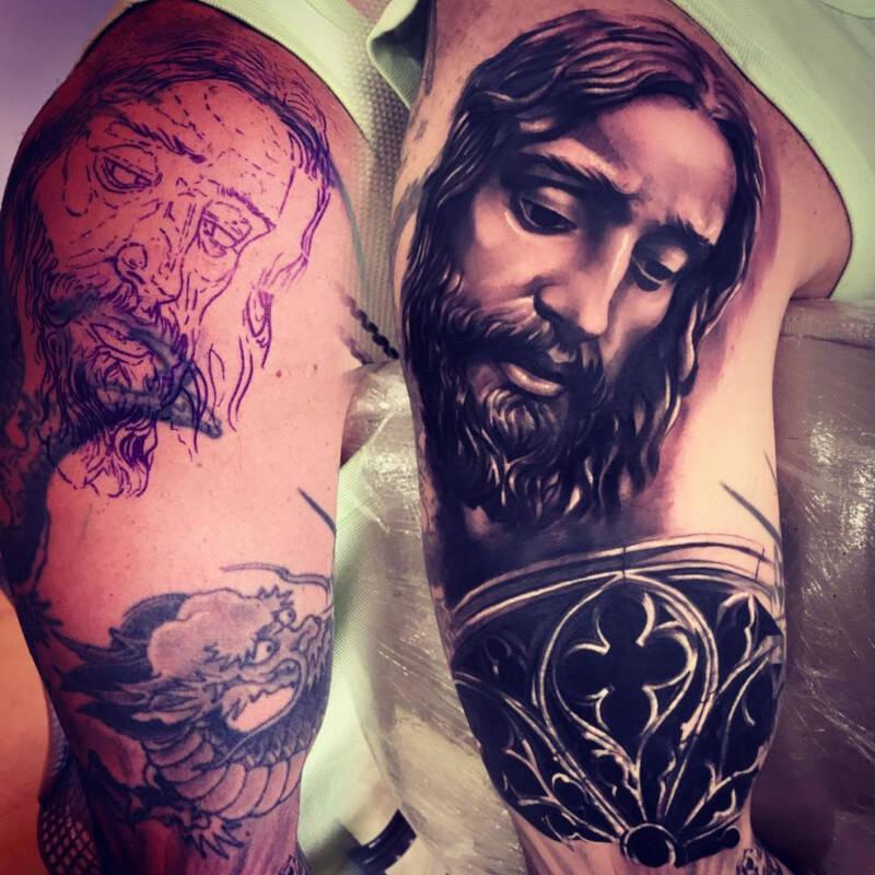 Marcos Mion mostra nova tatuagem / Foto: Reprodução Instagram