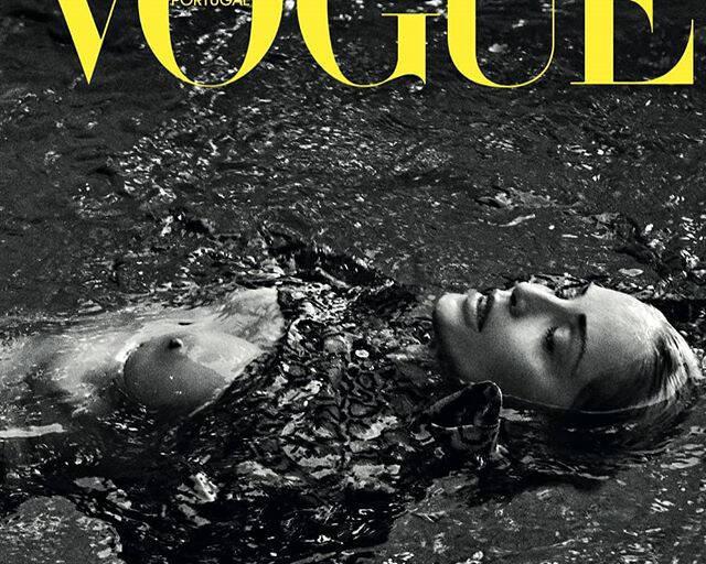 Sharon Stone posa para a Vogue Portugal / Foto: Reprodução Instagram