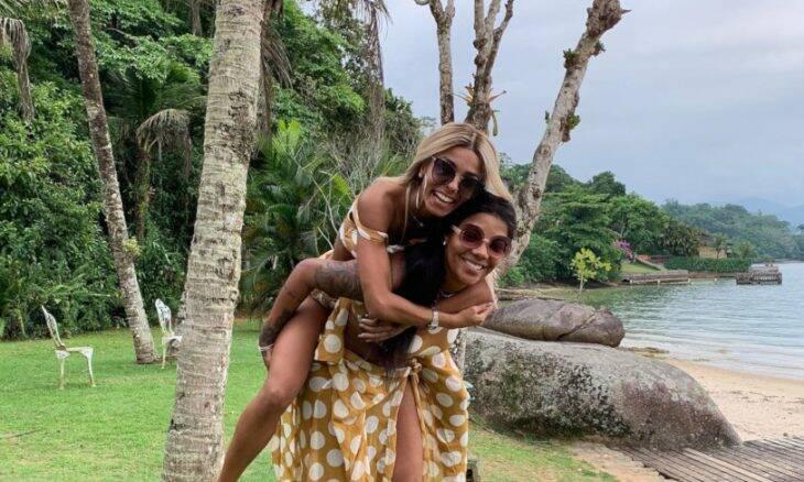 A bailarina Brunna Gonçalves e a cantora Ludmilla / Foto: Reprodução Instagram