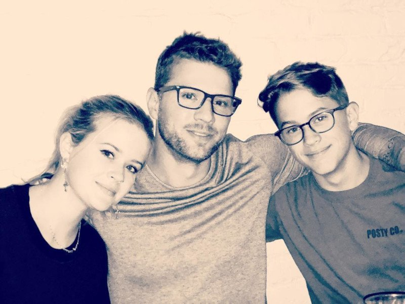 Ava Phillippe, Ryan Phillippe e Deacon Reese Phillippe / Foto: Reprodução Instagram