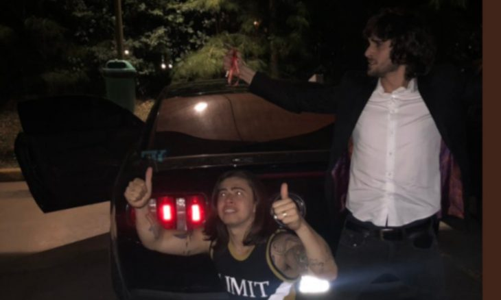 Whindersson Nunes pega carona com Fiuk / Foto: Reprodução Twitter