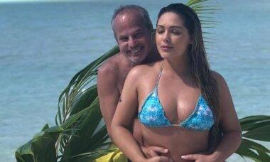 Jayme Monjardim e Tânia Mara Reprodução/Instagram