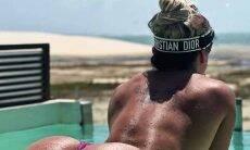 Juju Salimeni faz a temperatura subir ao posar no instagram