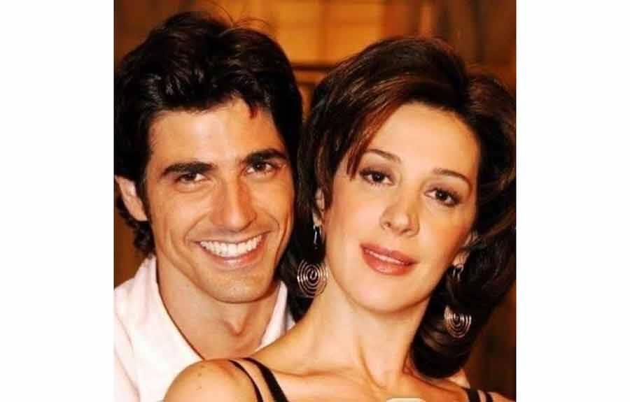 """Cláudia Raia comemora aniversário do """"irmão"""" Reynaldo Gianecchini"""