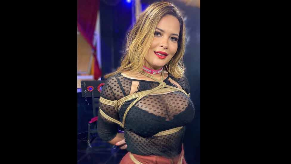 Geisy Arruda perde 7 mil seguidores após foto de lingerie e amarrada (shibari)