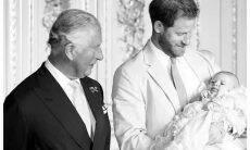 Príncipe Harry e Meghan Markle mostram mais uma foto inédita de Archie
