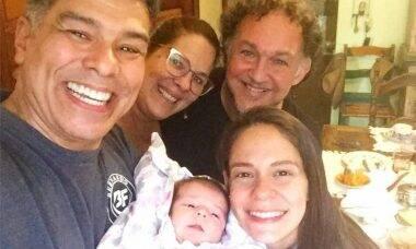 Maurício Mattar encanta ao compartilhar momento terno com a filha