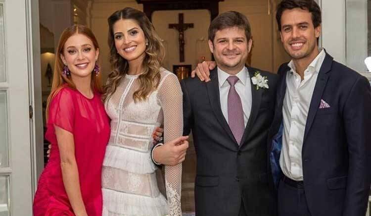 Marina Ruy Barbosa lamenta morte de amigos em acidente aéreo da Bahia