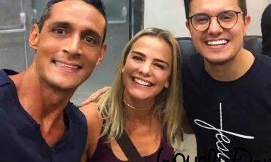 Milene Domingues surge feliz da vida com romance com outro craque da seleção