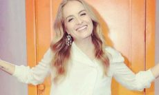 Angélica manda recado para Silvio Santos e posta foto rara