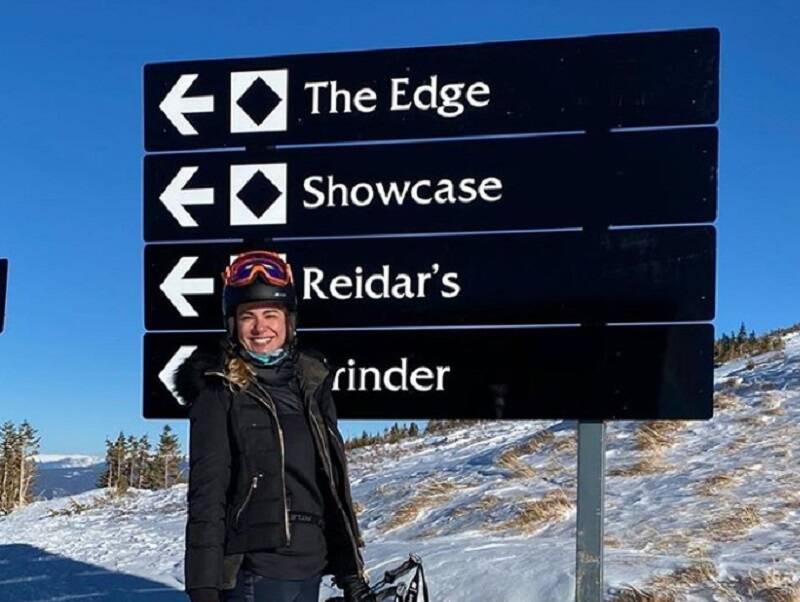 Luciana Jimenes aproveita as férias em Aspen