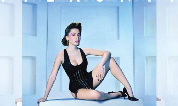 Anitta estrela na capa de revista americana