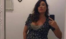 """Giselle Itié faz """"Chá de Bençãos"""" para comemorar gravidez"""