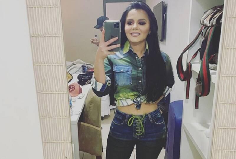 """Maraisa """"canta"""" funk da moda em post no Instagram"""