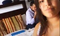 Andressa Ferreira mostra o rosto do filho com Thammy Miranda