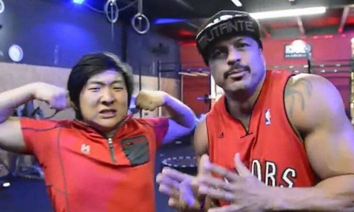 O ex BBB Bambam e atual Piong Lee em foto recente. Foto: Instagram