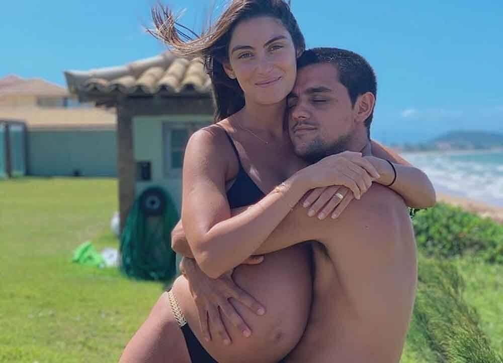 Nasce Vicente, terceiro filho de Felipe Simas e Mariana Uhlmann