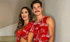 Nicolas Prattes divide momento íntimo com namorada