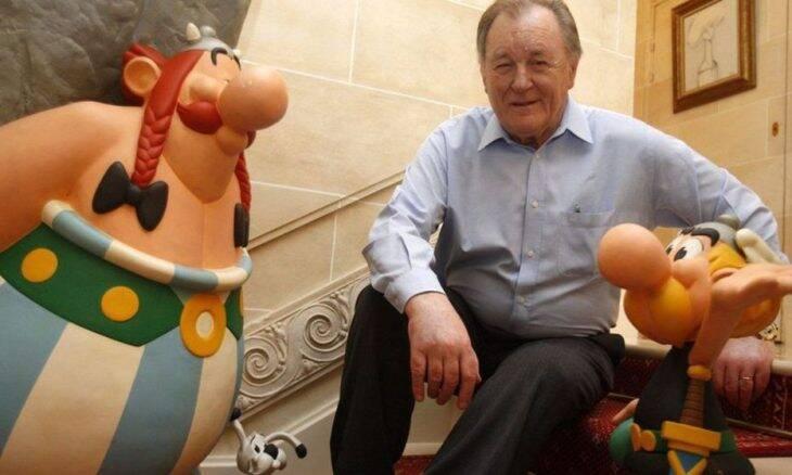 Um dos criadores de Asterix, Albert Uderzo morre aos 92 anos