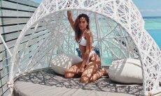 """Anitta mostra novas fotos de viagem e encanta: """"Um ensaio melhor que o outro"""""""