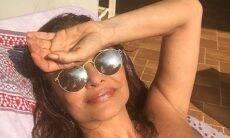 Luiza Tomé aparece de biquíni no Instagram