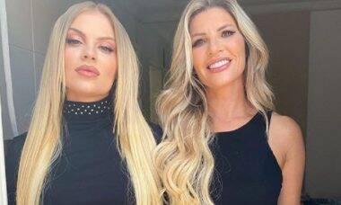 Luísa Sonza compartilha foto com a mãe e recebe elogio de Anitta