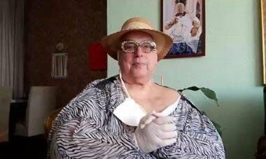 Mamma Bruschetta sofre acidente em casa e é atendida por bombeiros