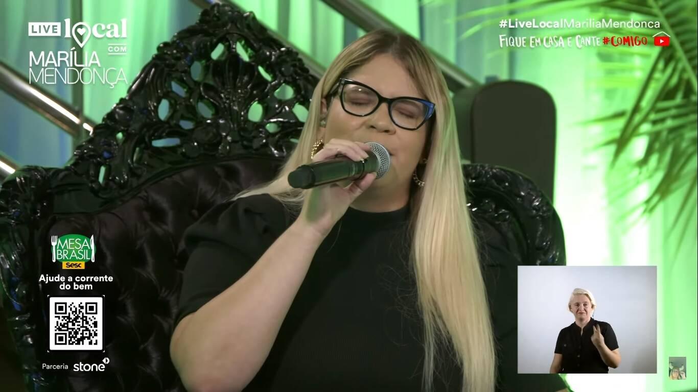 Live de Marília Mendonça quebra recorde no YouTube