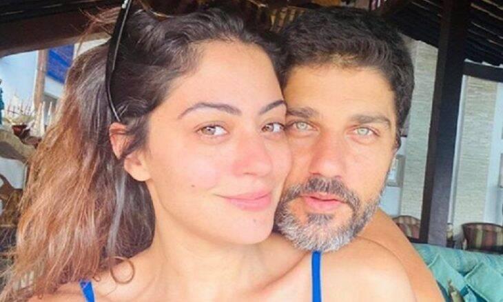 Carol Castro celebra seis meses de namoro com declaração de amor