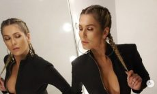 Livia Andrade anima os fãs em fotos de macacão
