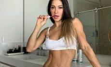Mayra Cardi faz desabafo sobre a vida nas redes sociais... de lingerie