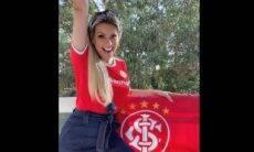 Renata Fan posa com camisa do Inter e dá o que falar na web. Foto: Instagram