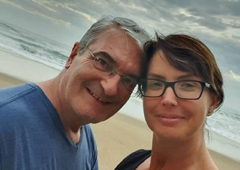 Marido de Alessandra Scatena morre de Covid-19 aos 56 anos