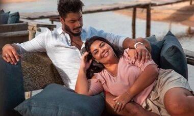 Fabiana Karla e Diogo Mello se casaram em segredo