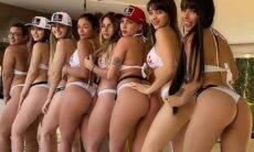 Juliana Caetano se reúne com amigas para divulgar reality show Mansão Bonde. Foto: Instagram