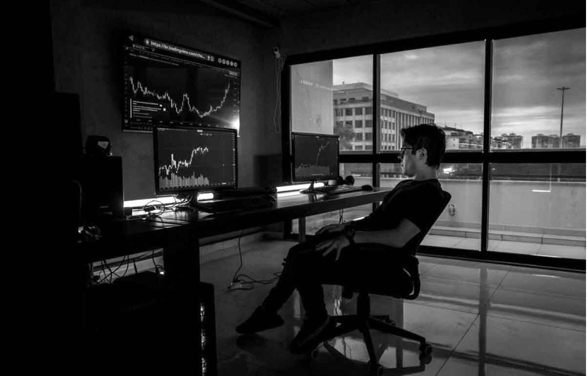 Influenciador e youtuber Ports Trader cria o maior canal de Day Trade no YouTube. Foto: Divulgação