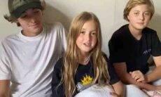 Filhos de Luciano Huck esquecem o texto em homenagem ao pai. Foto: Instagram