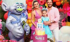 Mirella Santos e Ceará comemoram aniversário de Valentina