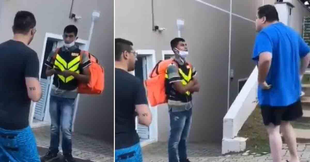 Motoboy humilhado em Valinhos ganha quase 2 milhões de seguidores e R$ 151 mil em vaquinha online