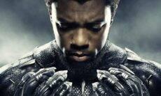 "Morre Chadwick Boseman, o ""Pantera Negra"". Foto: Reprodução twitter"