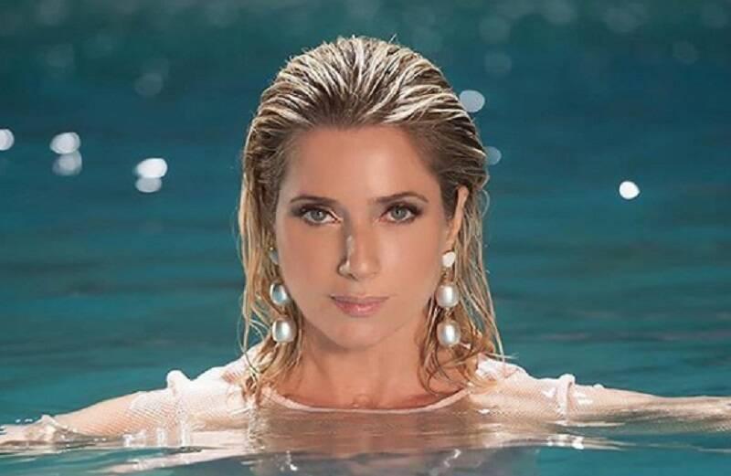 Leticia Spiller faz homenagem no aniversário de Marcello Novaes
