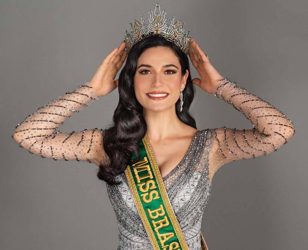 Miss Brasil 2020: Julia Gama vence e irá representar o Brasil no Miss Universo. Foto: Instagram