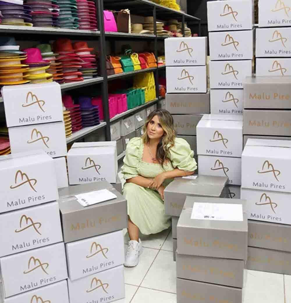 Malu Pires conta como transformou grife de chapéu em referência nacional . Foto: Divulgação